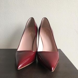 Kate Spade Chestnut New York Licorice Patent Pumps
